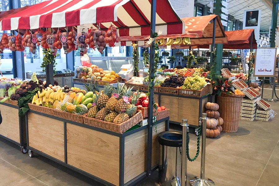 Obststand Münchner Großmarkt