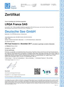 IFS Deutsche See-1