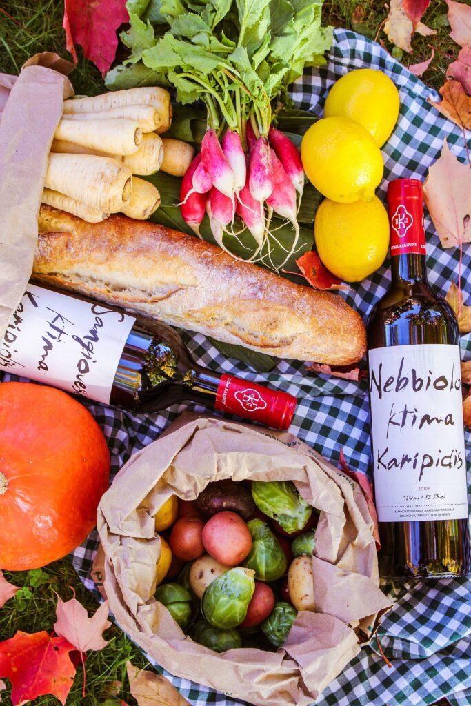 KItakoch_BIO-Picknick im Freien