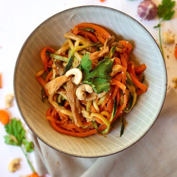 Kitakoch_Vietnamesischer Tomatentofu mit Reisnudeln