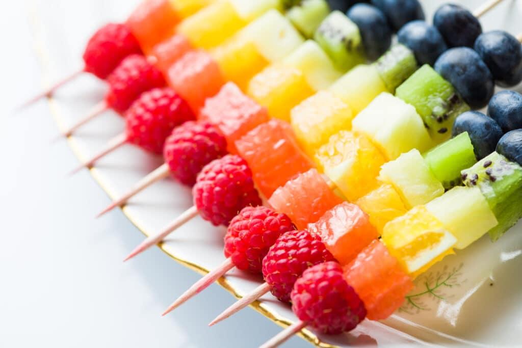 Frische Zubereitungsideen für Obst für Kinder